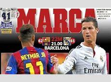 Barcelona vs Real Madrid El Clasico set up to be La Liga