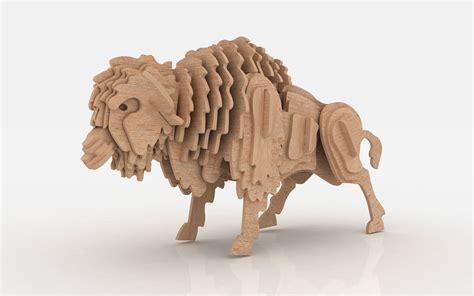 buffalo  american bison wild makecnccom
