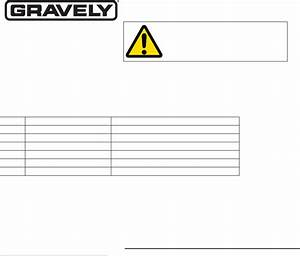 Gravely Lawn Mower 991201 User Guide