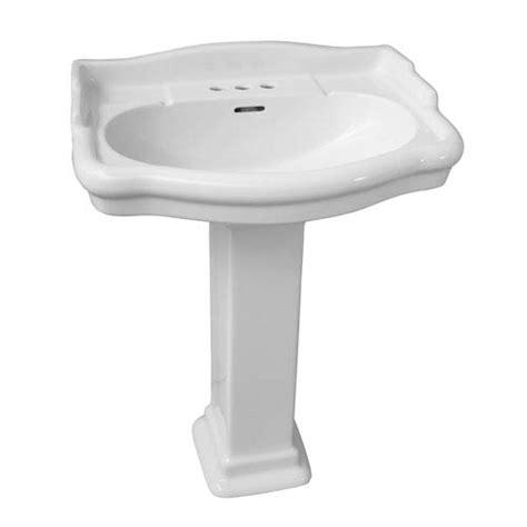 Barclay Pedestal Sink Stanford by 18 Inch Pedestal Sink Bellacor 18 In Pedestal Sink