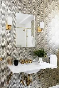 papier peint salle de bain zen maison design bahbecom With papier peint salle de bain zen