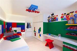 Kinderzimmer Aufbewahrung Ideen : kinderzimmer junge 55 wandgestaltung ideen ~ Markanthonyermac.com Haus und Dekorationen