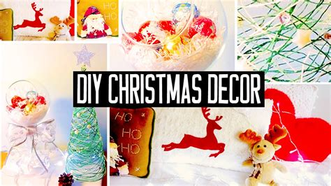 diy christmas room decorations  sew pillow easy tree