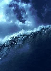 ocean rain gif | Tumblr