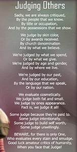 Judge And Be Judged Quotes. QuotesGram