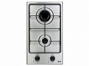 Table de cuisson gaz 2 foyers FAR DG 12 FAR Vente de Plaque de cuisson encastrable Conforama
