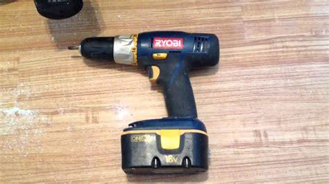 ryobi  cordless battery operated drill customer review