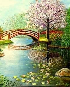 Toile De Jardin : le jardin japonais au printemps lebreton hays ~ Teatrodelosmanantiales.com Idées de Décoration