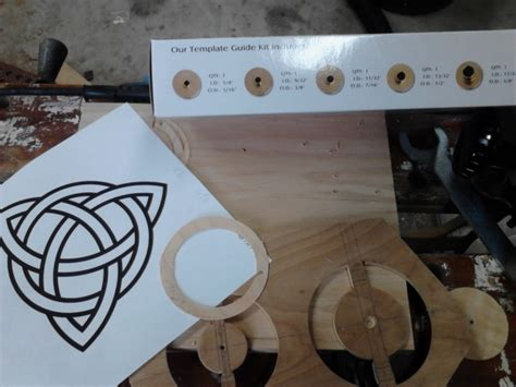 how to make a router template router template mystery misery woodworking talk woodworkers forum
