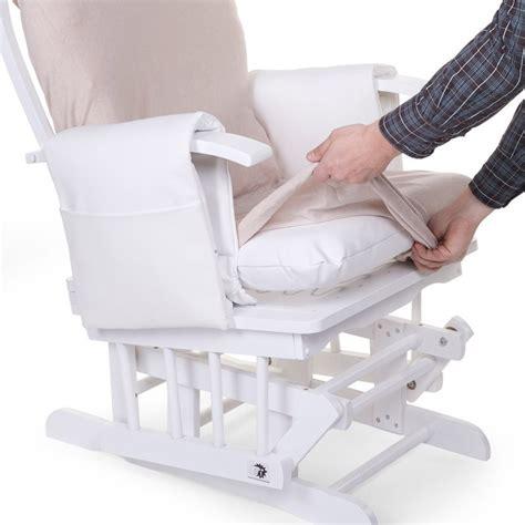 chaise à bascule allaitement housse de coussin pour fauteuil d 39 allaitement de childwood
