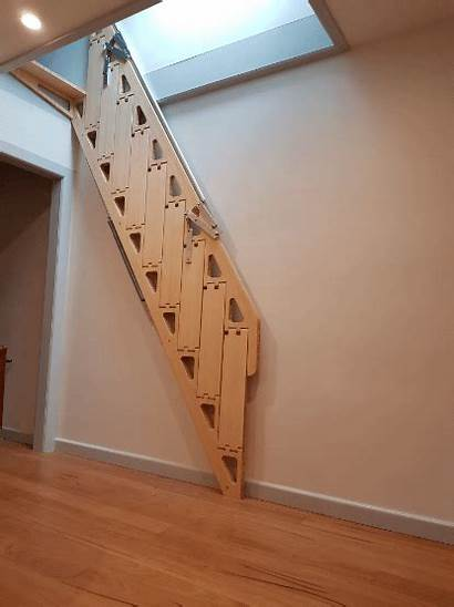 Tiny Stairs Folding Ladder Spicy Away Spaces