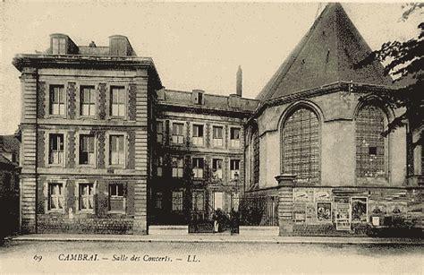 chambre de commerce cambrai divers edifices en centre ville