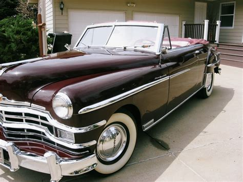 For Sale New by 1949 Chrysler New Yorker Convertible For Sale