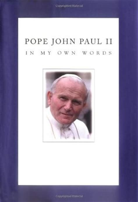 quote  pope john paul ii  plead