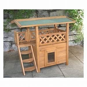 Maison Pour Chat Extérieur : maisonnette en bois lodge d 39 int rieur ou d 39 ext rieur pour ~ Premium-room.com Idées de Décoration