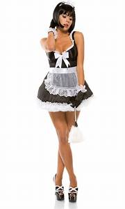 Adult Domesticated Delight French Maid Costume | $55.99 ...