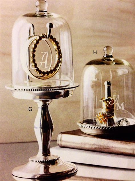 glass jewelry cloche organize jar jewelry glass