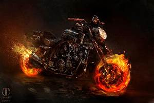 Image - Ghost Rider+Concept Art by Jerad S Marantz 05a.jpg ...