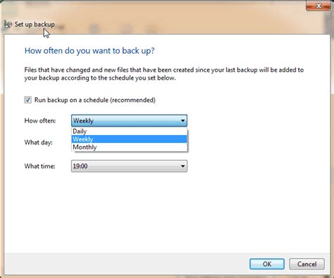 Best Backup Utility Best Way To Do Schedule Automatic Backup In Windows 7