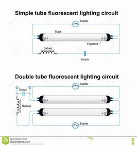 Twin Fluorescent Lamp Wiring Diagram