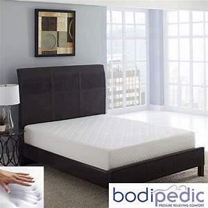 bodipedic essentials 8 inch queen size memory foam With bodipedic memory foam mattress