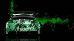 Honda CR-Z Tuning Back Anime Aerography Car 2014 | el Tony