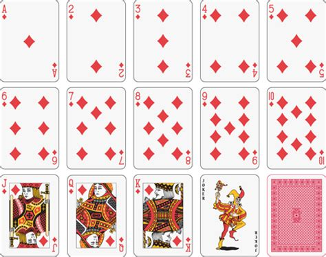 playing cards art vector  images playing cards