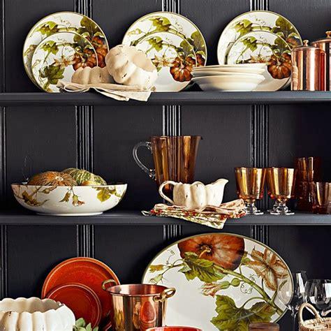 botanical pumpkin dinner plates set   thanksgiving dinner plates pumpkin platter