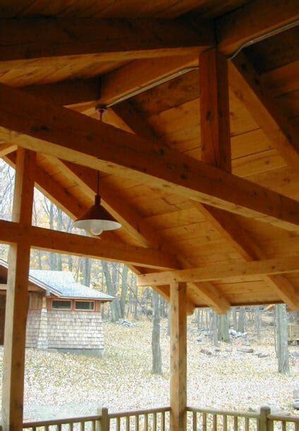 camper cabins fresh air fund post beam cabins