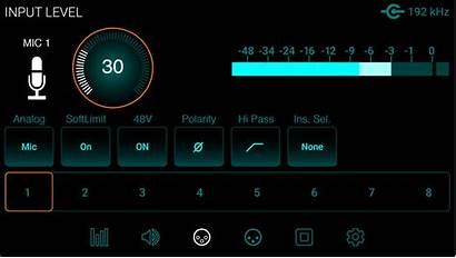 Input Mic Screen Symphony Pre Control Audio
