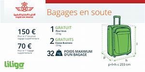 Bagage Soute Transavia : bagages royal air maroc prix poids dimensions ~ Gottalentnigeria.com Avis de Voitures