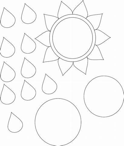 Sunflower Template Printable Flower Templates Patterns Pattern