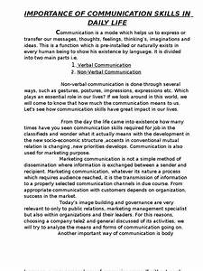 Healthcare Essay Topics Essay On Communication Skill English Essays Examples also Definition Essay Paper Essay Communication Skills Proposed Research Methodology Examples  Argumentative Essay Thesis Example