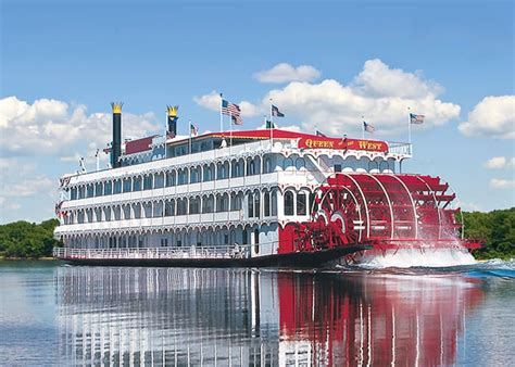 Steamboat Company by The American Queen Steamboat Company Paddlewheeler