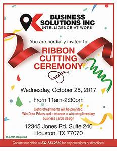 K Business Solutions Inc. Celebrates Move to New Houston ...