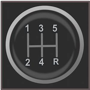 Gear Shift Knob Icon Free Vector    4vector