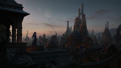 christian dimitrov artwork cityscape fantasy city
