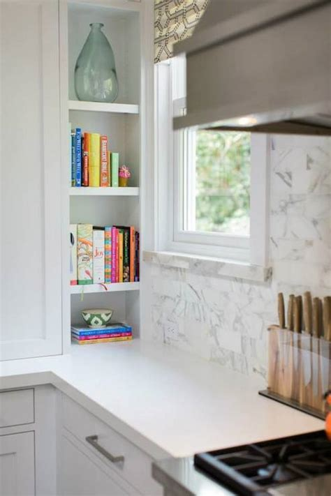 Cookbook Niche   Transitional   kitchen   Benjamin Moore