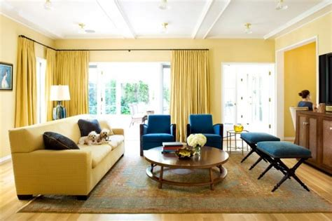 22 Stunning Yellow Living Room Decor