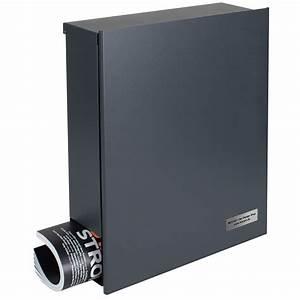 Ral Anthrazitgrau 7016 : design briefkasten mit zeitungsfach anthrazitgrau ral 7016 mocavi box 111 wandbriefkasten 12 ~ Sanjose-hotels-ca.com Haus und Dekorationen