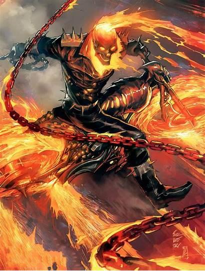 Rider Ghost Wallpapers Backgrounds Spirit Vengeance