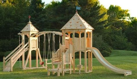 cool outdoor play sets  kids summer activities
