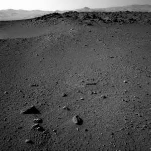 Pictures of Pyramid On Mars NASA Curiosity Rover