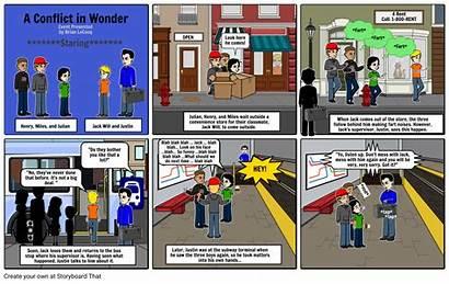 Wonder Conflict Storyboard Storyboards