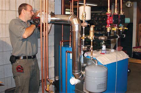 installing  efficient noncondensing boiler jlc