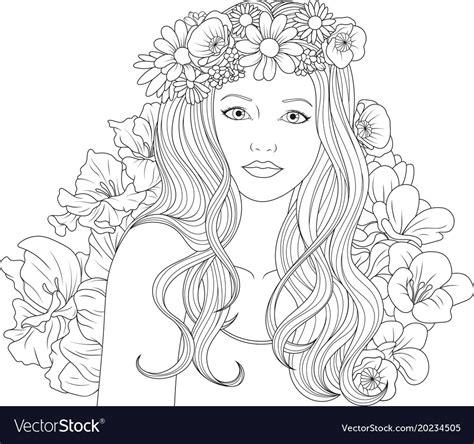 beautiful coloring pages beautiful coloring pages royalty free vector image
