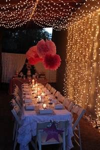 Under the Stars Tween / Teen Girl Birthday Party via Karas