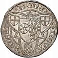 1 Weißpfennig - Adolph II. von Nassau - Archbishopric of ...