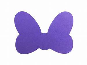 Minnie Mouse Bow Die Cut ANY COLOR Bow Disney Minnie Mouse