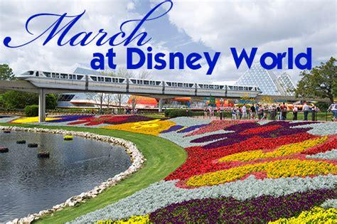 march disney world crowd calendar